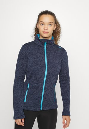 WOMEN JACKET - Fleece jacket - blue nero