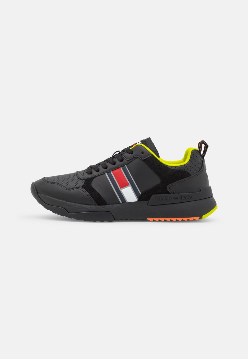 Tommy Jeans - MODERN RUNNER PERF  - Trainers - black