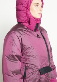 adidas Performance - URBAN COLD RDY OUTDOOR JACKET 2 IN 1 - Down jacket - power berry - 3