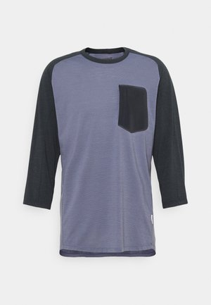 SKIBOTN 3/4  - Funkční triko - vintage indigo