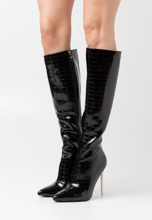 FABLE - High heeled boots - black