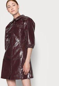 Glamorous Tall - LADIES DRESS  - Shirt dress - burgundy - 3