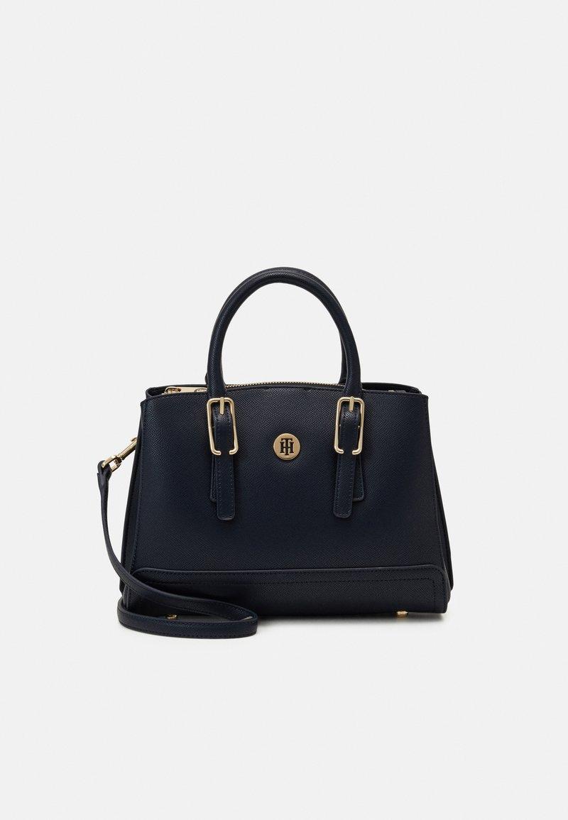 Tommy Hilfiger - HONEY SATCHEL - Handbag - blue