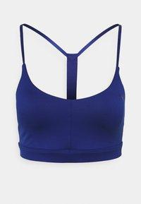 LOW IMPACT STRAPPY BRA - Light support sports bra - elektro blue