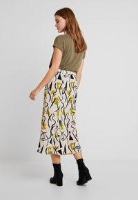 Monki - HALO SKIRT - A-line skirt - beige - 2