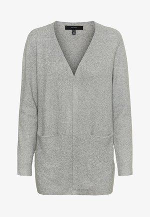 Gilet - light grey melange