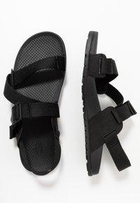 Chaco - LOWDOWN  - Walking sandals - black - 1