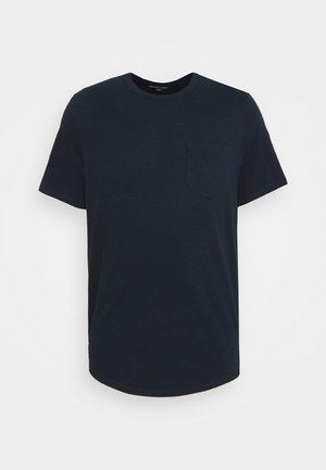 SLUB YARN TEE - Basic T-shirt - midnight