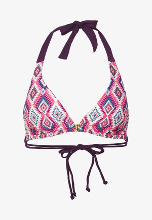 COMOROS TRIANGLE - Bikini top - pink