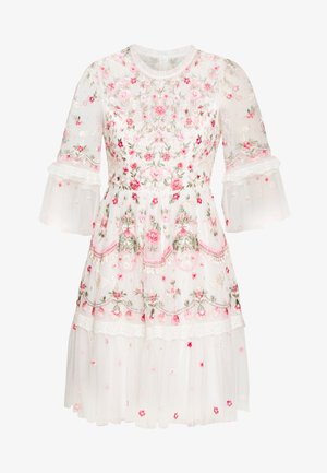 BUTTERFLY MEADOW DRESS - Cocktailklänning - white