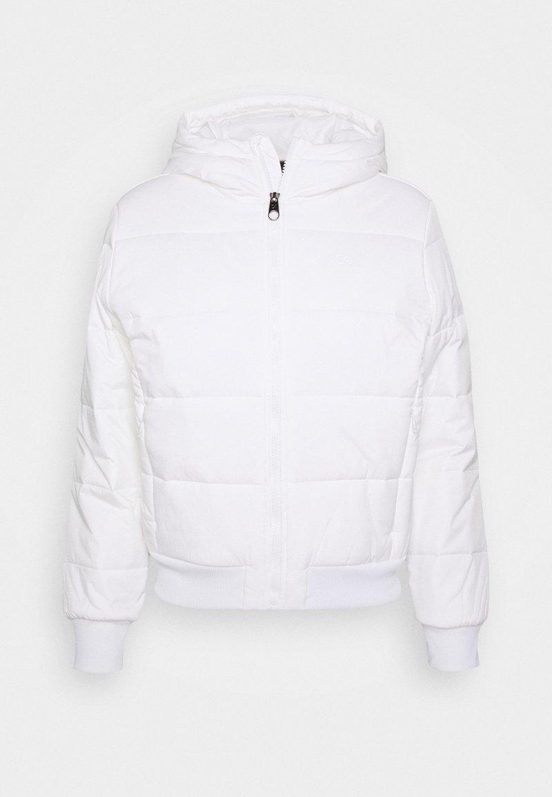 Calvin Klein Performance - PADDED - Training jacket - white