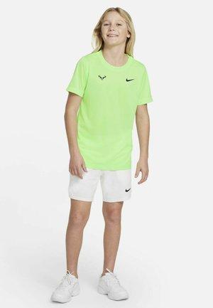 T-shirt de sport - lime glow/obsidian