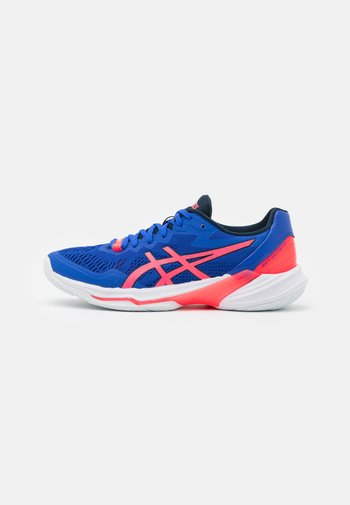 SKY ELITE - Volleyball shoes - lapis lazuli blue/blazing coral