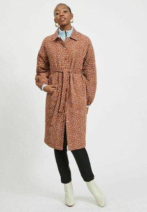 Winter coat - tobacco brown