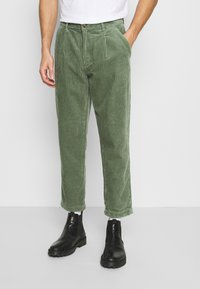 TOM TAILOR DENIM - RELAXED - Trousers - sea spray - 0