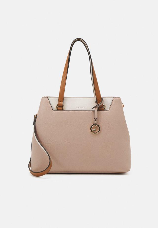 FARAH - Handbag - nude