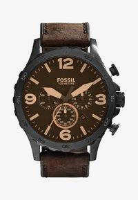 Fossil - Hodinky se stopkami - brown - 1