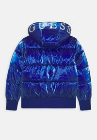 Guess - JUNIOR PADDED HOODED - Zimní bunda - jewel blue - 1