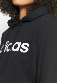 adidas Performance - Hoodie - black/white - 4