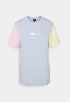 BUONANOTTE TEE - T-shirt z nadrukiem - light blue