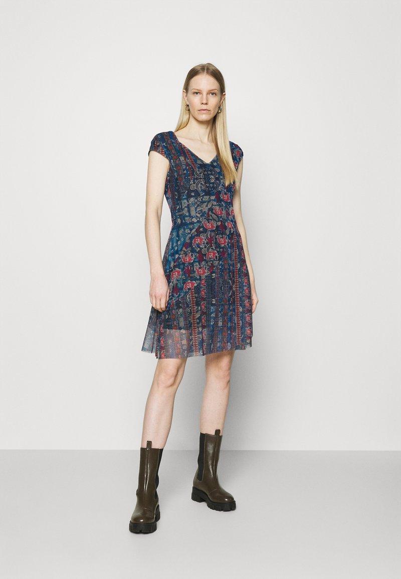 Desigual - Korte jurk - blue
