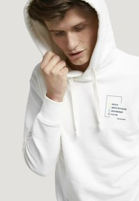 TOM TAILOR DENIM - Hoodie - soft clear white - 3