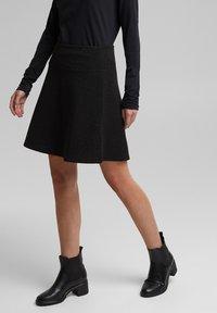 edc by Esprit - A-line skirt - black - 5