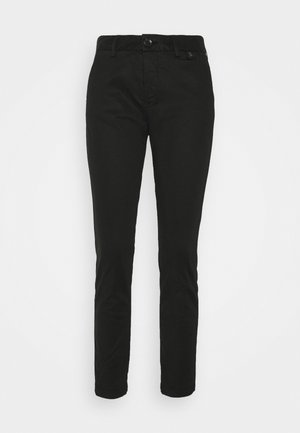 LOVELY POWERSTRETCH - Chino kalhoty - black