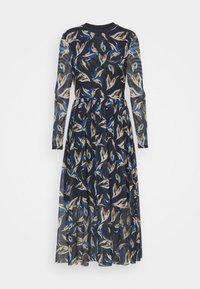 TOM TAILOR DENIM - PRINTED DRESS - Maxi dress - blue - 0