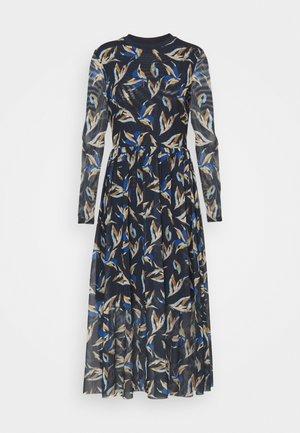 PRINTED DRESS - Maxi dress - blue