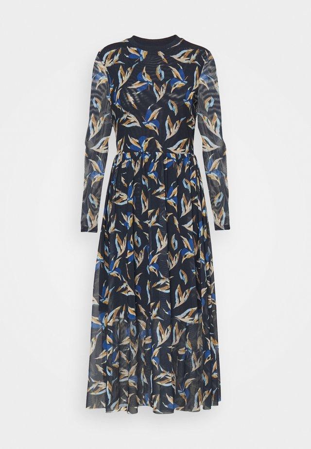 PRINTED DRESS - Maxi-jurk - blue