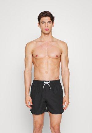 SWIM TOWEL SET - Swimming shorts - black