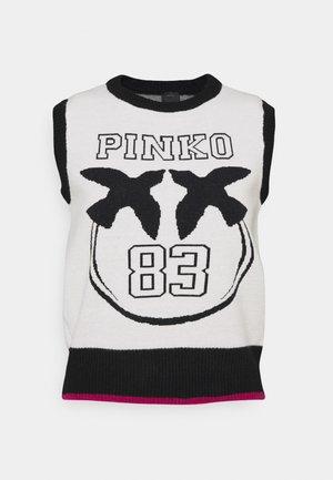 ANAGNI - T-shirt z nadrukiem - black