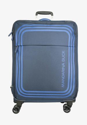 BILBAO - Wheeled suitcase - dress blue