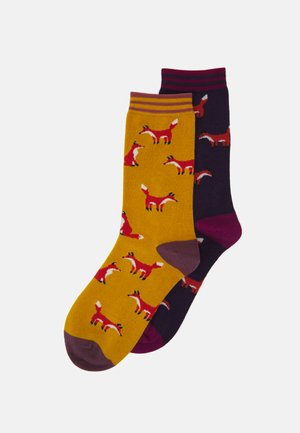 FOXY SOCKS 2 PACK - Socks - royal purple