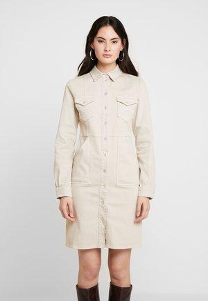 DRESS - Denim dress - safari