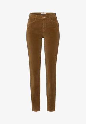 STYLE SHAKIRA - Trousers - cognac