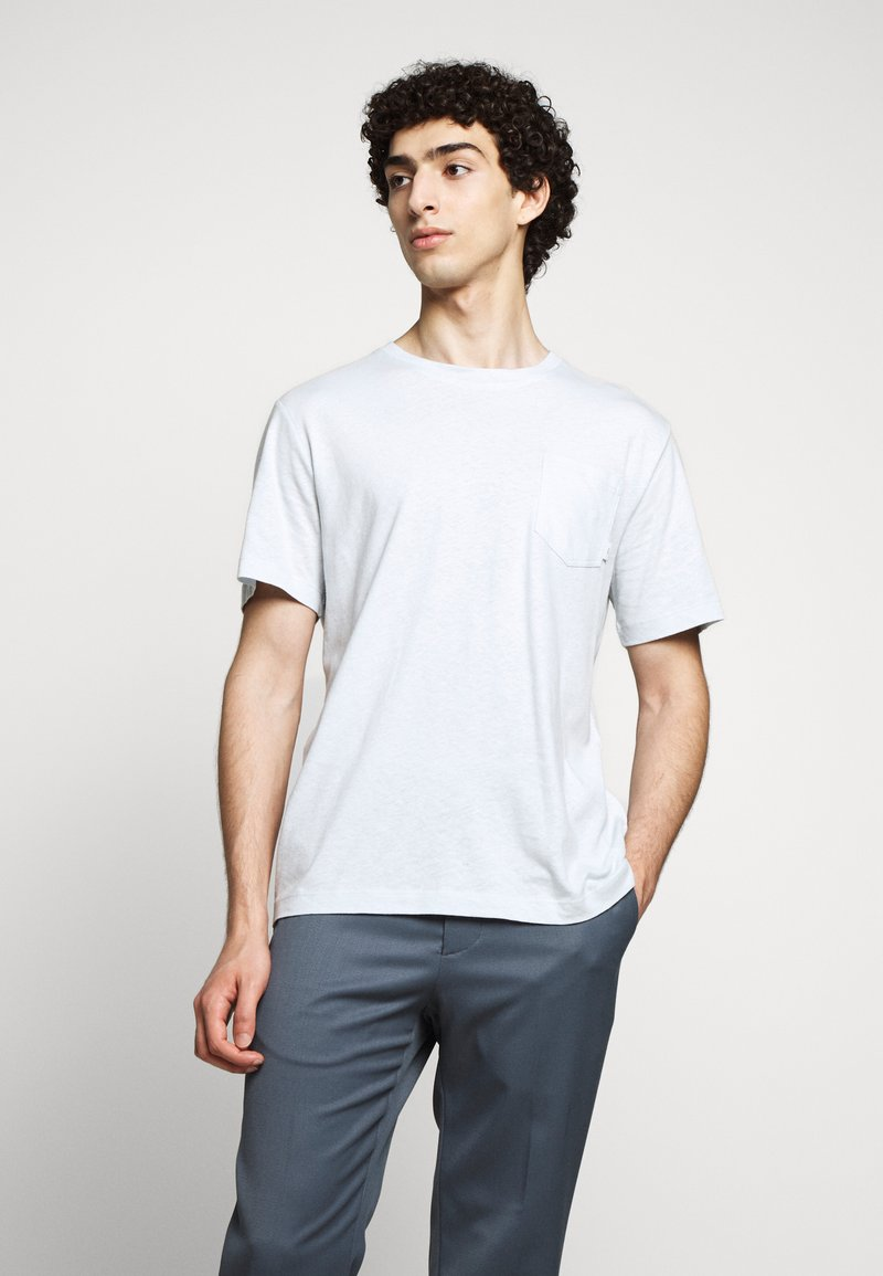 Tiger of Sweden - DIDELOT - Basic T-shirt - pastelblue