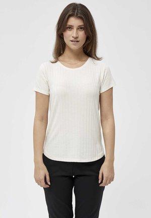 VALLY - Print T-shirt - gardenia