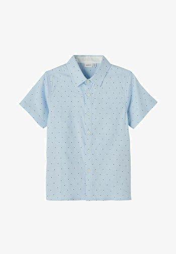 Shirt - dusty blue