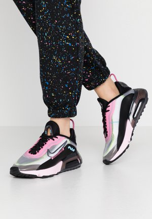 AIR MAX 2090 - Sneakers laag - white/black/pink foam/lotus pink/volt/blue gaze
