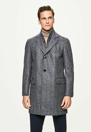 Classic coat - navy/grey