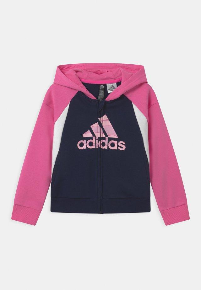 UNISEX - Giacca sportiva - pink/dark blue