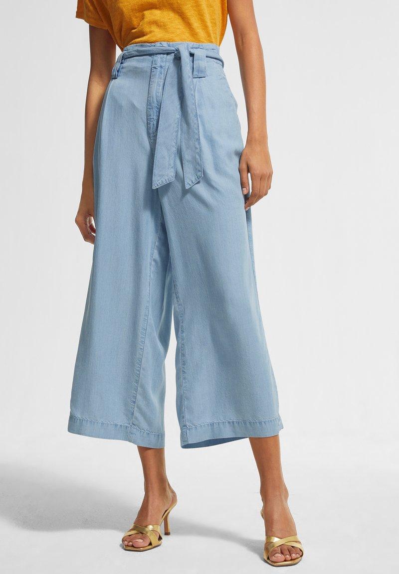 comma casual identity - Straight leg jeans - light blue