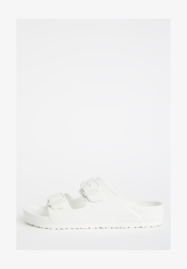 Badslippers - white
