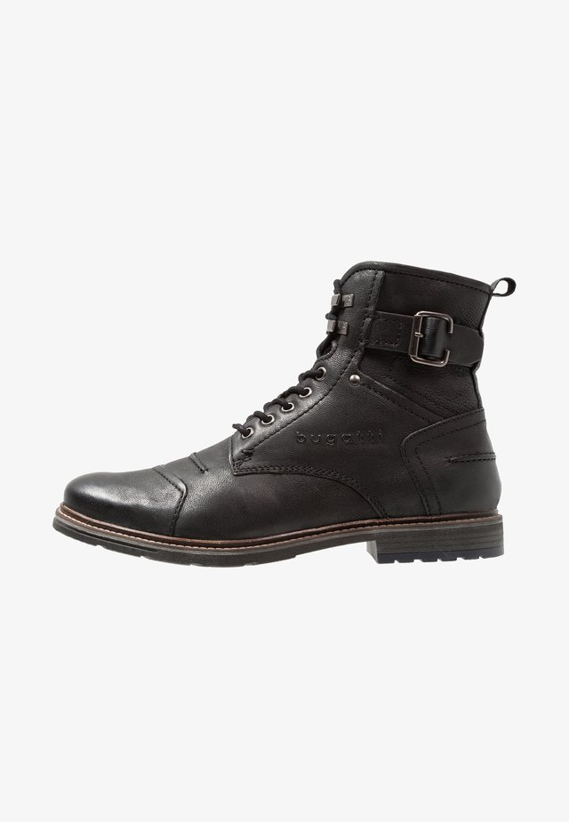 VANDAL - Bottines à lacets - black
