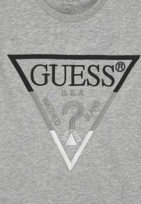 Guess - JUNIOR UNISEX - T-shirt print - light heather grey - 2
