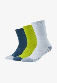 EVERY CUSH 3 PACK - Sportovní ponožky - multicoloured/neon green