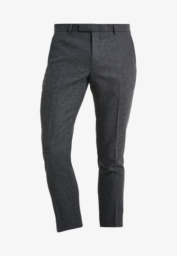 MOONLIGHT TROUSERS - Kostymbyxor - charcoal