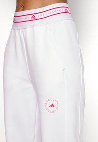 adidas by Stella McCartney - Pantalones deportivos - white - 4